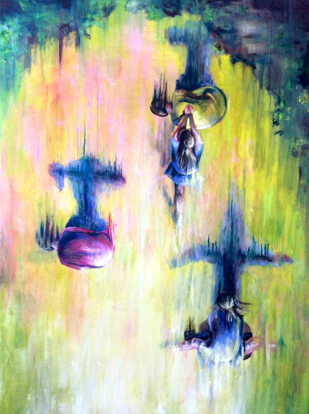 Kamikaze,   200 X 150 cm, oil on canvas, 2015