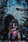 #DOITGIRLY 5 ;12 X 18 cm, nailpolish on canvas, 2020
