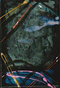 #DoitGirly 3, 12X 18 cm ,nailpolish on canvas,2020